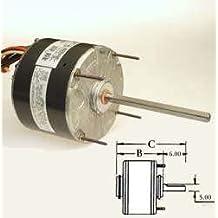 GE 3328, 1/4 HP, 208-230 Volts, 5 5/8 Condenser Fan Motors HP: 1/4, RPM: 1075...