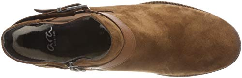 ara Femme Bottines Setter Marron 68 cognac Kansas AwAxZqUrC