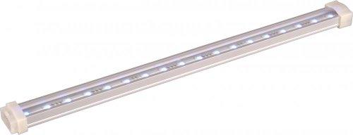 Maxim Lighting 53722AL Thirty Six Light Undercabinet Strip, Brushed Aluminum ()