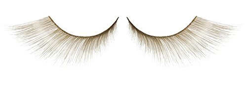 Zink Color Ivory White Gold False Eyelashes E364 Dance Halloween Costume -