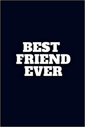 best friend ever notebook university graduation gift lined