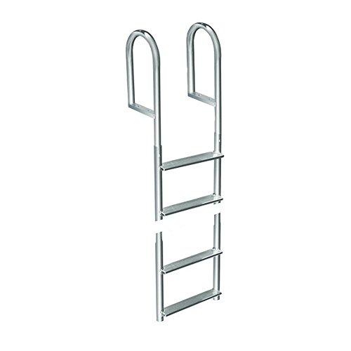Dock Edge 4 -Step Fixed Welded Aluminum Dock Ladder