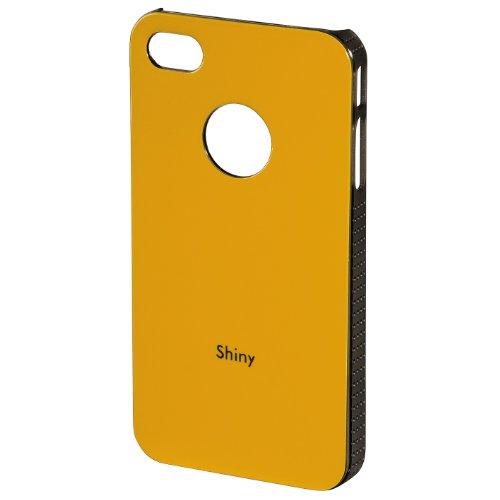 Hama Coque pour Apple iPhone 4/4S–Orange Brillant