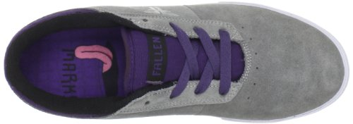 Fallen VICE TOY MACHINE 41070059 - Zapatillas de skate de ante para hombre Grey/Purple