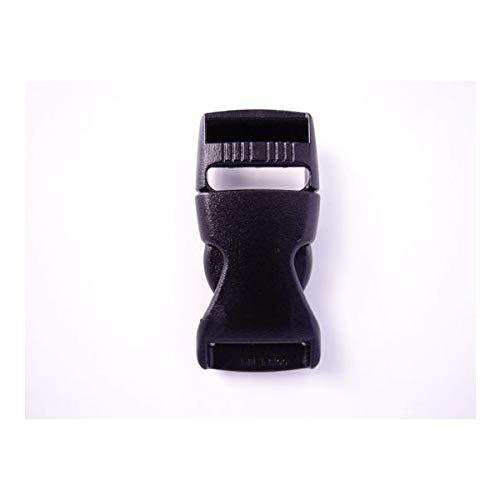 100個セット NIFCO ニフコ TSR25 プラスチック バックル 黒 25mm巾用 ベルトの長さ調節などに 100個セット  B07K2W956Y