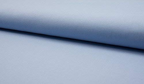 1 8Mtr 50cmx37cm Luxury 100% Cotton Heavy Canvas Fabric Craft Material  SKY