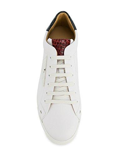 Fendi Da Uomo 7e1108a1gnf11f0 Sneakers In Pelle Bianca