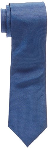 Calvin Klein Men's X Liquid Luxe Solid Tie, Cobalt, Regular by Calvin Klein