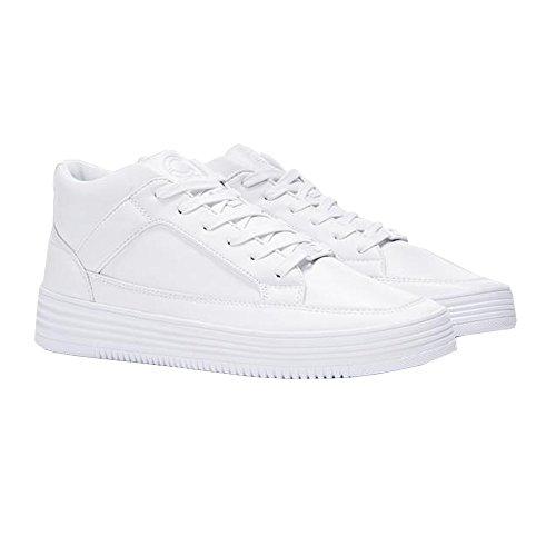 Uomo Bianco London Bianco Value Sneaker Auditor's Target 40 White White Certified qEa7x4wa