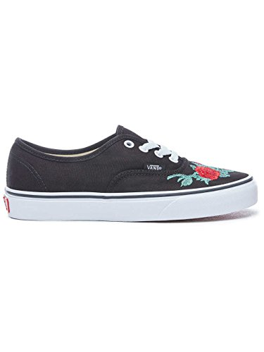 Nero Sneakers Vans Rose rosso Authentic Thorns 6Fxw8