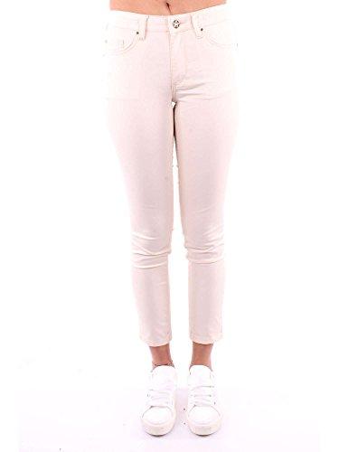 Donna Heach Cotone Pgp18853jemilk Jeans Bianco Silvian zCqw8E