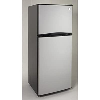 Avanti FF99D3S 9.9 cu. ft. Frost Free Refrigerator, Black with Stainless Steel Doors