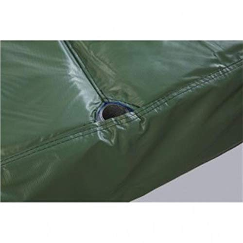 Aromzen 15 ft. Safety Pad for 8 Poles 10 in. Wide - Green