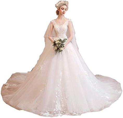 Waldhochzeitskleid One-Shoulder-Hochzeitskleid High-Waist-Hochzeitskleid Schwangere Frau Hochzeitskleid (größe : L)
