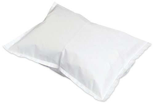 - McKesson 18-917 Pillowcase, Tissue/Poly, White, 21