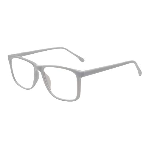 OCCI CHIARI Computer Eyeglasses Prescription Eyewear Frame Men Oversized Glasses Blue Light Blocking ()