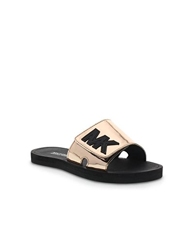 Michael Kors Youth Eli Slide Rose Gold - Michael Kids Kors
