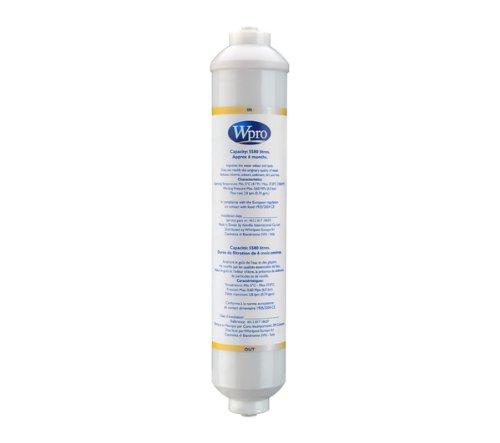 Wpro USC100 Kühlschrankzubehör/ Externe Wasserfilterpatrone für Side-by-Side Kühlschränke/ Passend für viele Geräte (u.a. Samsung, Liebherr, LG)