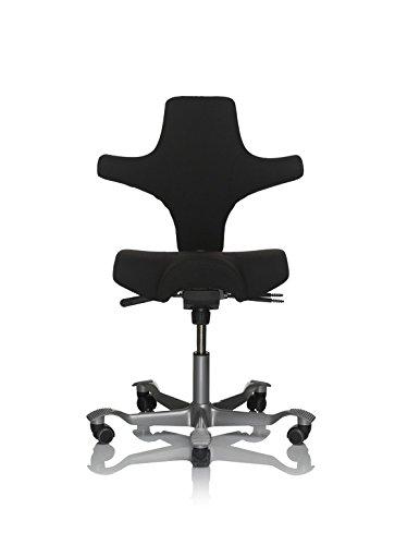 HAG Capisco 8106 Office Cover Xtreme Havana YS009 Office Chair black
