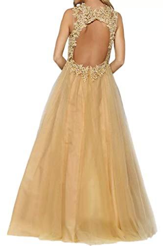 A Braut Abendkleider Schulterfrei Bodenlang Promkleider Regency La Gold Lang Spitze Marie Rock Abiballkleider Elegant Linie vCnwq1B
