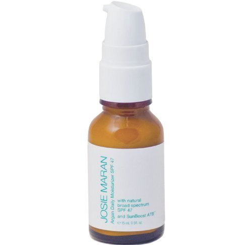 Josie Maran Argan Daily Moisturizer SPF 47 with Sunboost ATB (Travel (.5oz/15ml)) by Josie Maran