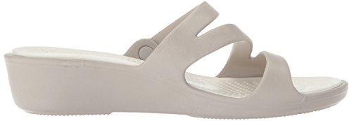 Women Oyster Sandal Platinum Patricia crocs 68wUqwC