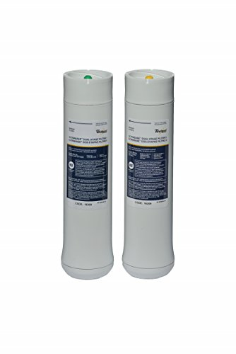 Whirlpool WHEEDF Dual Stage Replacement Pre/Post Water Filters (Fits Systems WHADUS5 & WHED20) by Whirlpool