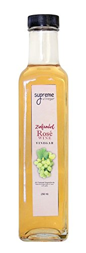 Supreme White Zinfandel Rosé Vinegar (250 mL / 8.5 oz)