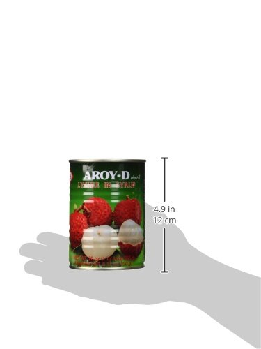 Lychee in Syrup - 20oz (Pack of 6) by Aroy-D (Image #4)