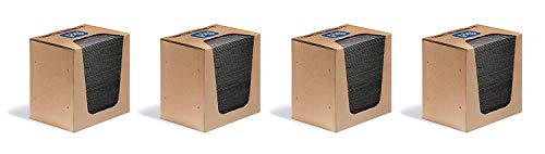 New Pig Mat Pads in Dispenser Box - 100 Absorbent Mats - 12 Ounce Absorbency - 13'' x 10'' - MAT251 (4 X Pack of 100) by New Pig Corporation (Image #2)