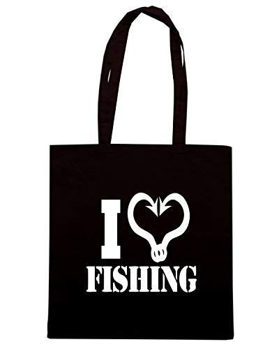 LOVE Shopper Nera FISHING WES0941 Borsa qXwRx4apOX