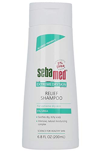 Sebamed Extreme Dry Skin Relief Treatment Shampoo with 5% Urea for Dry Itchy Scalp (200mL)