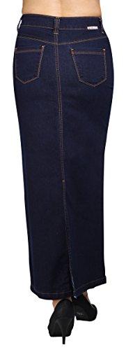 Maxana - Falda - para mujer azul azul X-Large