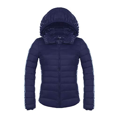 Down Autumn Parkas Mxssi Duck Jackets Slim Blue Jacket Puffer Hooded Light Doat Womens Navy Down Short Ultra O4qBO0