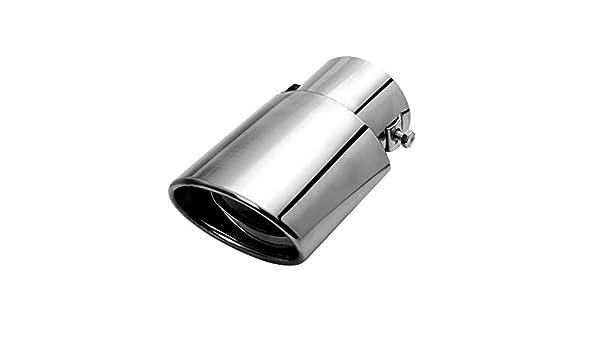 D DOLITY Universal Exhaust Tip Burnt Muffler 1.5-2 Inlet 5.5 Length