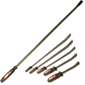 5Pc Dominator Pry bar Set W/Free 36-C Pry bar