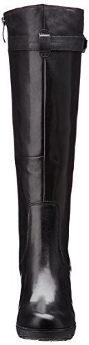 Tamaris 25611 - botas de cuero mujer negro - Schwarz (schwarz (BLACK001))
