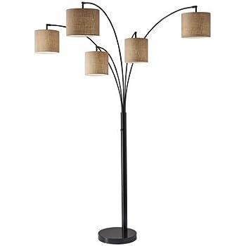 4 Arm Arch Floor Lamp Gold Shade Amazon Com