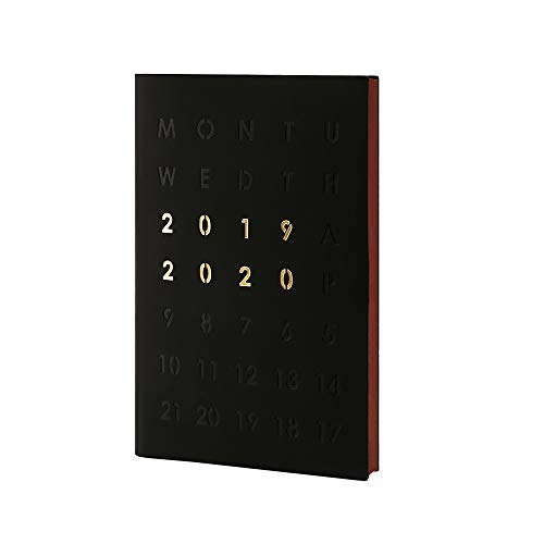 "Day Planner 2019-2020 Daily Monthly Planner (June 2019 - June 2020) 13 Months Weekly Planner Faux Leather Softcover Schedule Agenda 5.7"" x 8.4"""
