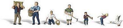 Woodland Scenics Ho Farm (Woodland Scenics HO Scale Scenic Accents Figures/People Set Farm People)