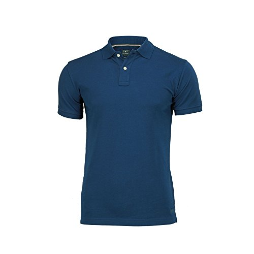 Nimbus Mens Yale Short Sleeve Polo Shirt (S) (Indigo Blue)