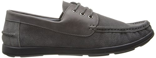 Kenneth Cole Mens Back Up Piano Barca Scarpa Grigia