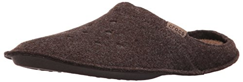 Bottom Walnut Base (Crocs Unisex Classic Slipper Mule, Espresso/Walnut, 5 US Men/7 US Women)