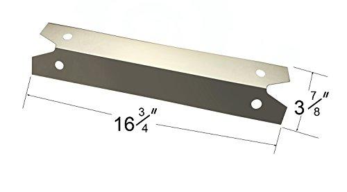 Charmglow 4-pack Bbq Gas Grill Heat Plate Porcelain Steel Heat Shield For Brinkmann,