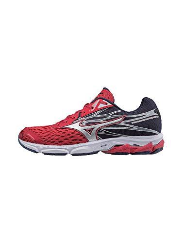 Mizuno Running Men's Wave Catalyst 2 Running Shoes, True Red-Silver, 10 D ()