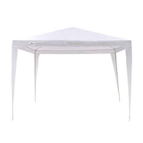 GOJOOASIS Wedding Party Tent Canopy 10x10 Outdoor Gazebo White by GOJOOASIS