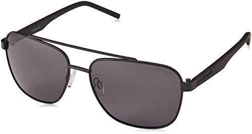 Polaroid Sunglasses Men's Pld2044s Polarized Rectangular Sunglasses, Black, 60 mm 2044 Designer Sunglasses