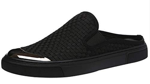 Perezosos 3 42eu Fuxitoggo Tamaño Zapatos 5 Moda Barco Hombre De color Para Lona Zapato Informal zOrz6qn