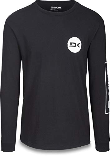 (Dakine Team Mission L/S T-Shirt Mens Sz L Black)