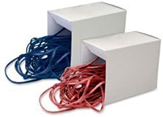 """product image for Rubberband, Large, 55 Gallon, 17"""""""", 50/BX, Blue, Sold as 1 Box, 50 Each per Box"""